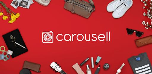 Carousellで売られている商品がかなり多ジャンルだった