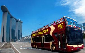 BigBuss Toursでシンガポールの名所巡り