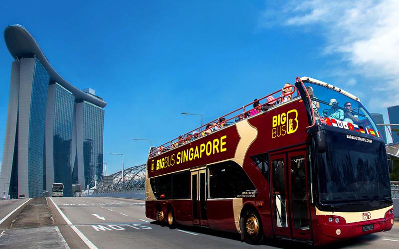 シンガポール旅行の移動に便利な「BigBuss Tours Singapore」で効率よくシンガポールの名所を巡る