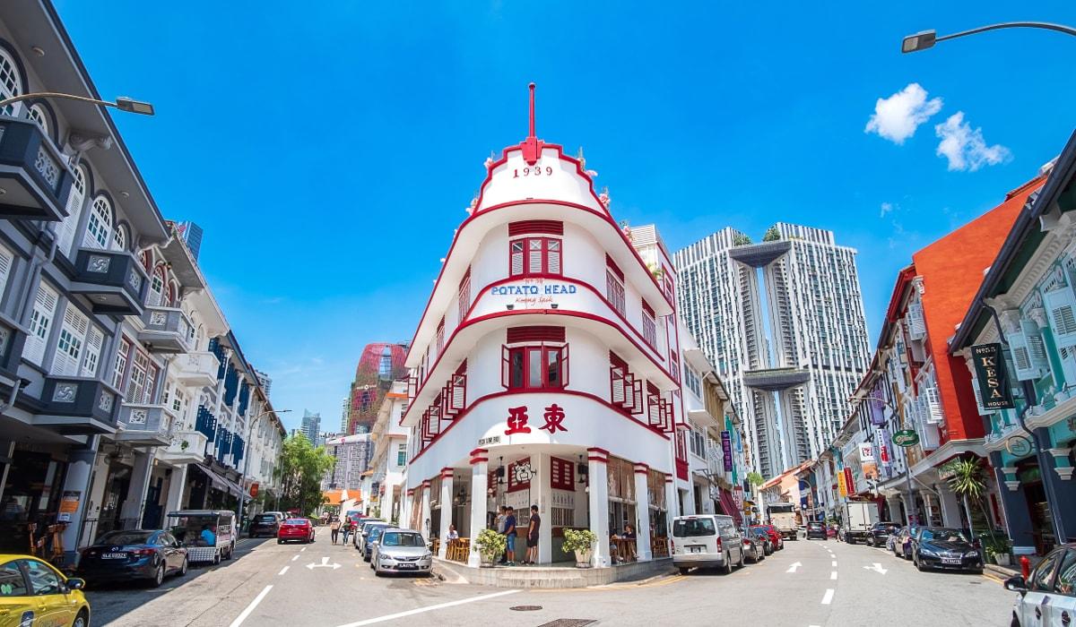 シンガポールのショップハウス