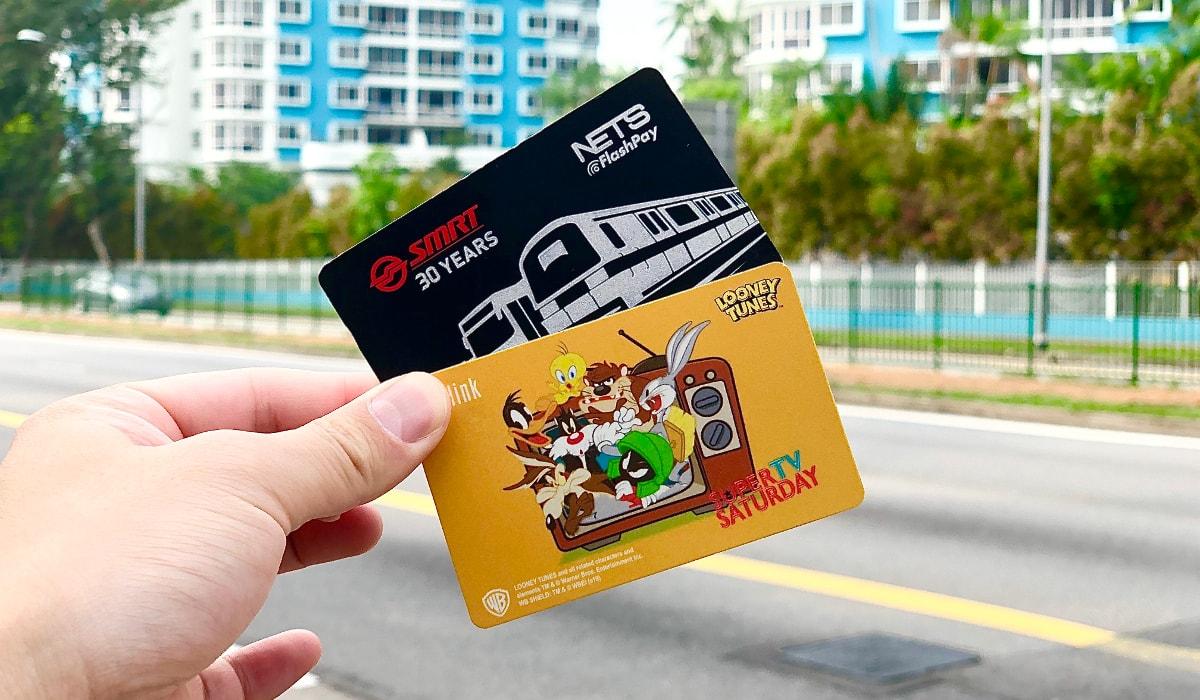 シンガポールの公共交通機関4つの支払い方法