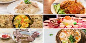 シンガポール料理一覧を作ってみた