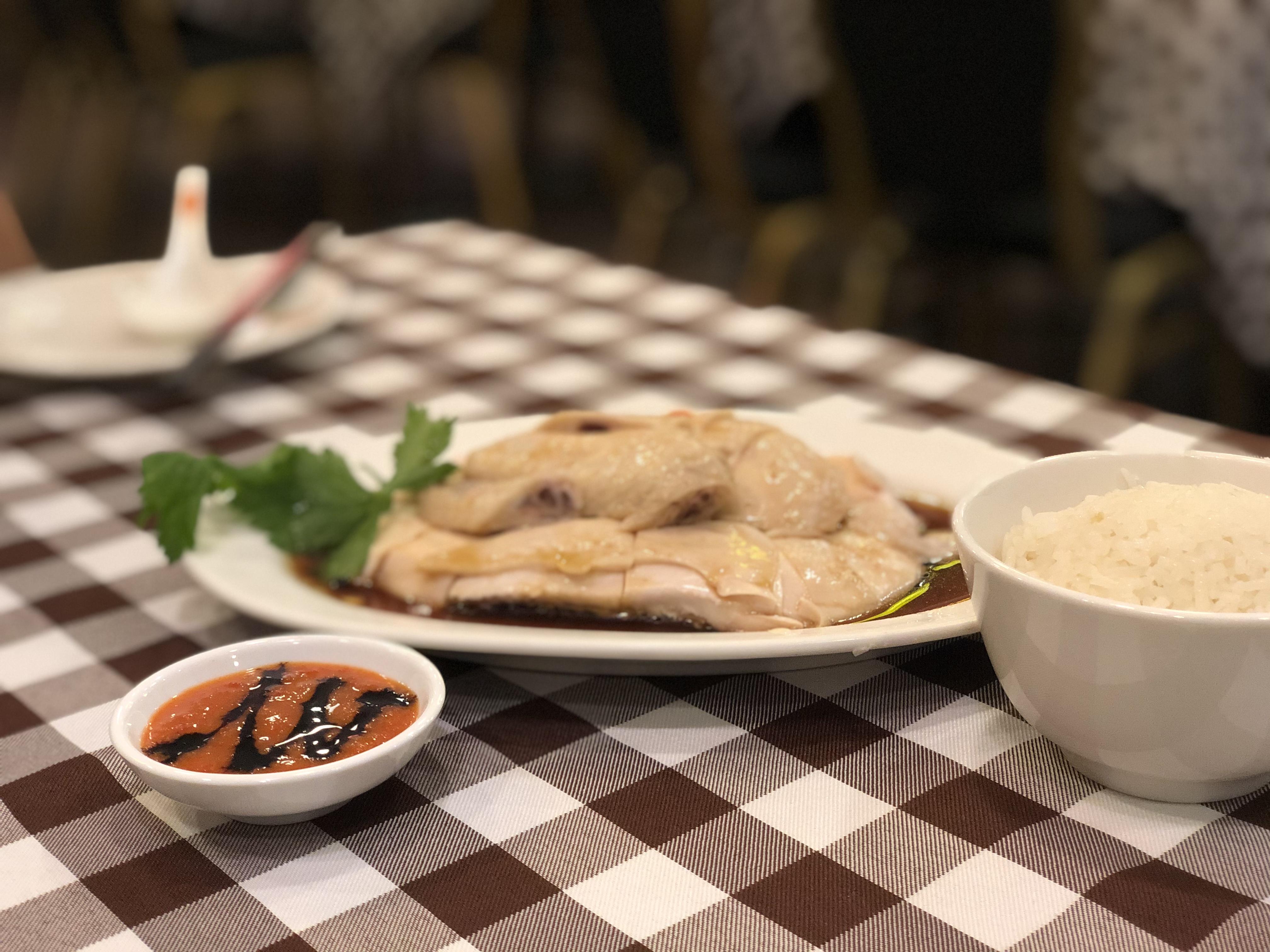 シンガポール食べ歩きログ第1弾: Boon Tong Keeのチキンライス