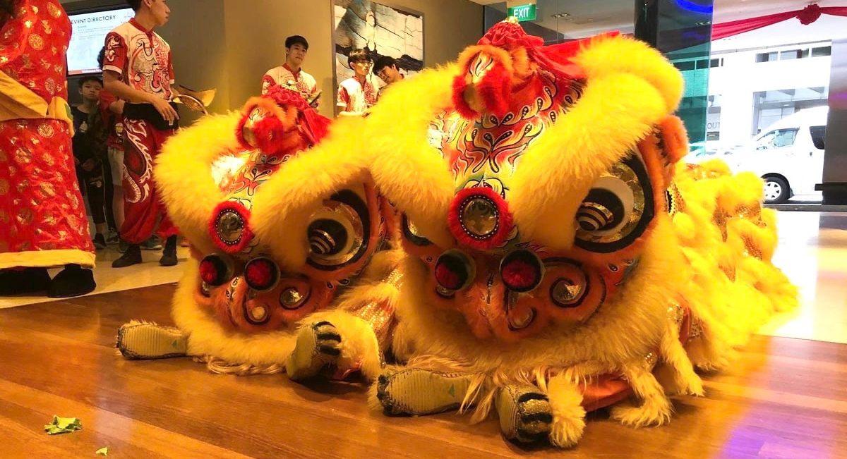 ライオンダンス(中国獅子舞)2