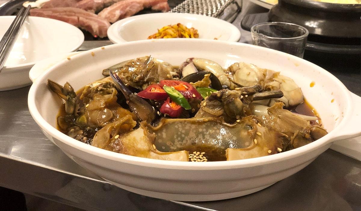 シンガポール食べ歩きログ第2弾:シンガポールでケジャンが食べれる韓国料理店