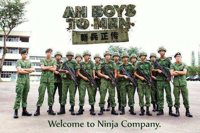 【シンガポールの映画】Ah Boys to MenをNetflixで観てみた