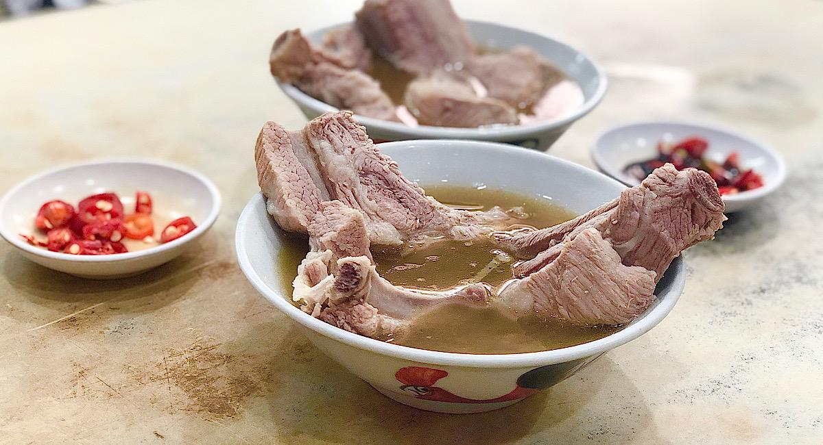 シンガポールの肉骨茶って何?