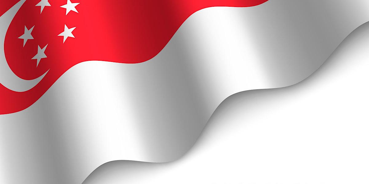 シンガポールの国旗について